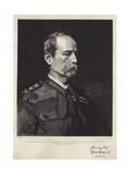 Celebrities of the Day, Lieutenant-General Sir Frederick S Roberts, Baronet, Vc, Gcb Giclee Print by Frank Holl