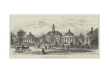 The Victoria Hospital, Burnley, Lancashire Giclee Print by Frank Watkins