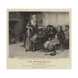 The Broom-Squire Reproduction procédé giclée par Frank Dadd