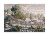 Landscape, 1807 Giclee Print by Francois Xavier Fabre