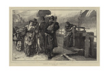 London Sketches, the Foundling Giclee Print by Frank Holl