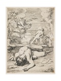The Death of Abel, Late 1630s-Early 1640s Giclee Print by Francois Perrier
