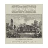 New Refreshment Pavilion, Kew Gardens Giclee Print by Frank Watkins