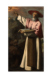 Saint Jerome, C.1640-45 Giclee Print by Francisco de Zurbaran