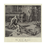 Our Parish Murderer Giclee Print by Frank Dadd
