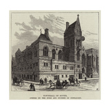 Townhall of Dover, Opened by Duke and Duchess of Connaught Giclee Print by Frank Watkins