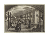 The Royal Hospital of Bethlehem, the Gallery for Women Giclée-Druck von Frank Vizetelly