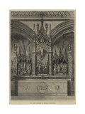 The New Reredos in Exeter Cathedral Giclee Print by Frank Watkins