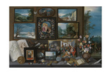 A Collection Giclee Print by Frans Francken the Younger