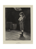 Alone Giclee Print by Frank Holl