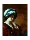 A Sybil Giclee Print by Francesco Del Cairo