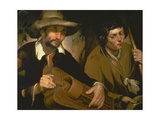 The Blind Hurdy-Gurdy Player, C.1640 Giclee Print by Francisco Herrera