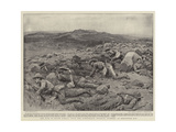 The War in South Africa, with the Queensland Imperial Bushmen at Rhenoster Kop Giclee Print by Frank Dadd