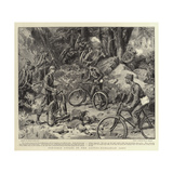 Portable Cycles in the Austro-Hungarian Army Giclee Print by Frank Dadd