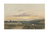 The Shepherd, Evening Giclee Print by Francis Oliver Finch