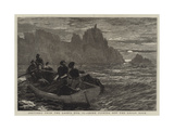 Sketches from the Land's End, Ii, Seine Fishing Off the Logan Rock Giclee Print by Frank Dadd
