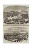 Capua, from Monte St Angelo Giclée-Druck von Frank Vizetelly