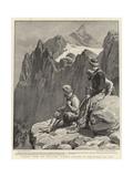 Armenia after the Massacres, Kurdish Brigands in the Hassan Ali Pass Reproduction procédé giclée par Frank Dadd