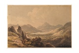 Lake Landscape (Killarney), Early 19th Century Giclee Print by Francis Nicholson