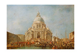The Doge of Venice at the Festa Della Salute Giclee Print by Francesco Guardi