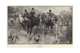 The Opening of the Hunting Season, in Full Cry Giclee Print by Frank Craig