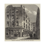 Garraway's Coffee-House, Change-Alley, Now Being Demolished Giclee Print by Frank Watkins