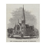 New Congregational Church at Harrogate Giclee Print by Frank Watkins