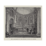 New Adornments of the English Church at Algiers Giclee Print by Frank Watkins
