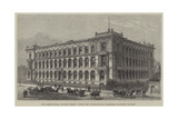 The Agricultural Museum, Berlin, Where the International Fisheries Exhibition Is Held Giclee Print by Frank Watkins
