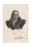Chaptal, 1830 Giclee Print by Francois Seraphin Delpech