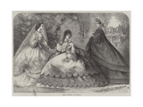 Paris Fashions for August Giclee Print by Frederic Theodore Lix