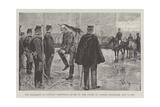 The Breaking of Captain Dreyfus's Sword in the Court of L'Ecole Militaire, 5 January 1895 Reproduction procédé giclée par Frederic De Haenen