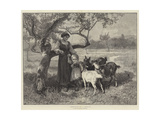 Besieged Giclee Print by Frederick Morgan