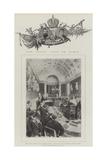 The Czar's Visit to Paris Reproduction procédé giclée par Frederic De Haenen