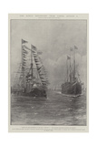 The King's Departure from Cowes, 6 August Giclee-trykk av Fred T. Jane
