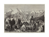 Encampment of Spahis on the Plain of St Maur Giclee Print by Frederic Theodore Lix