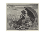 Left in Charge Giclee Print by Frederick Morgan
