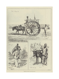 Sketches at Baku, on the Caspian Sea Giclee Print by Frederick Pegram