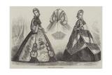 Paris Fashions for November Giclee Print by Frederic Theodore Lix