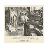 Armorel of Lyonesse, a Romance of To-Day Giclee Print by Frederick Barnard