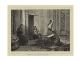 The Morning of the Festival, Central Italy Giclee Print by Frank W. W. Topham