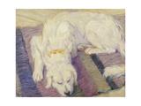Sleeping Dog, 1909 Giclee Print by Franz Marc