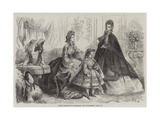 Paris Fashions for December Giclee Print by Frederic Theodore Lix