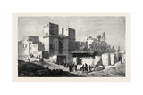 The Gate of Victory Cairo, in the Dudley Gallery London 1871 Giclee Print by Frank Dillon