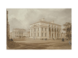 South East View of the Taylor Building and University Galleries (Watercolour with Bodycolour over G Giclee Print by Frederick Mackenzie