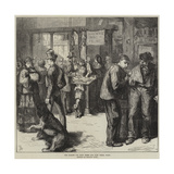 The Market for Dogs' Flesh and Cats' Flesh, Paris Giclee Print by Frederick Barnard