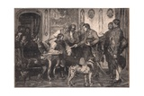 Andrew Hofer Appointed Governor of the Tyrol Ad 1809 Giclee Print by Franz Von Defregger
