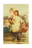 Home Again Giclee Print by Frederick Morgan