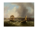 Coast Scene Giclee Print by Frederick Calvert