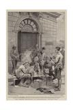 The British Occupation of Johannesburg, Dinner Time Reproduction procédé giclée par Frederic De Haenen